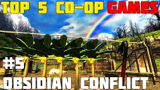 TOP 5 CO-OP GAMES for PC - #5 Obsidian Conflict. Plant, Harvest and Explore with a Friend!