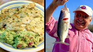 Casting for Creamy Parmesan Fish (low carb and delish!)