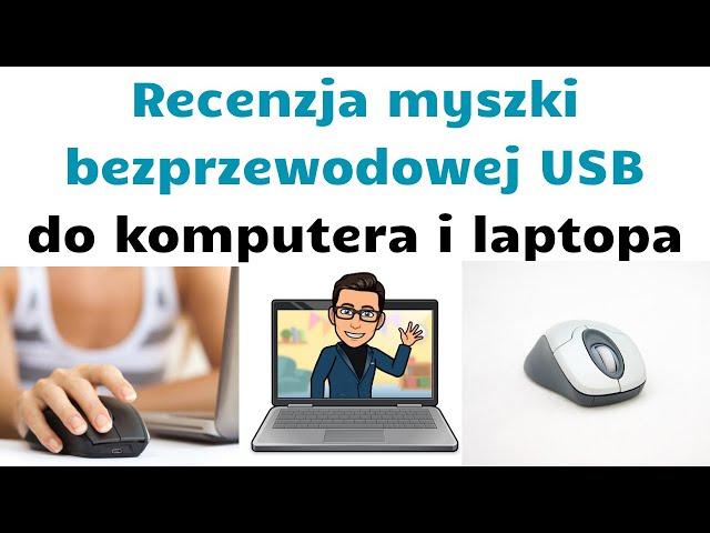Recenzja myszki zewnętrznej USB 👨💻 Bezprzewodowa Bluetooth Tracer 💻👀