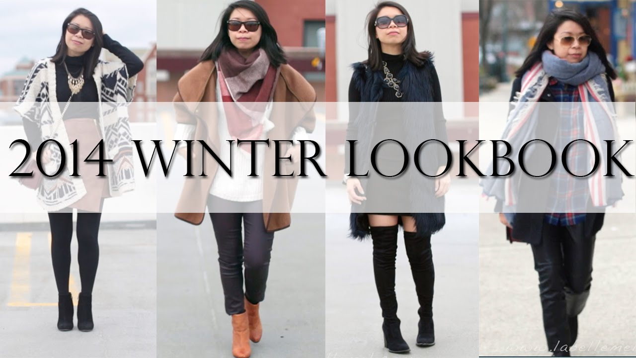 2014 2015 Winter Fashion Lookbook Mslabellemel Youtube
