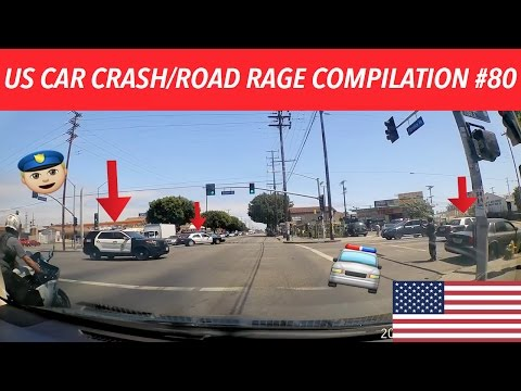 🇺🇸 [US ONLY] AMERICAN CAR CRASH/ROAD RAGE COMPILATION #80