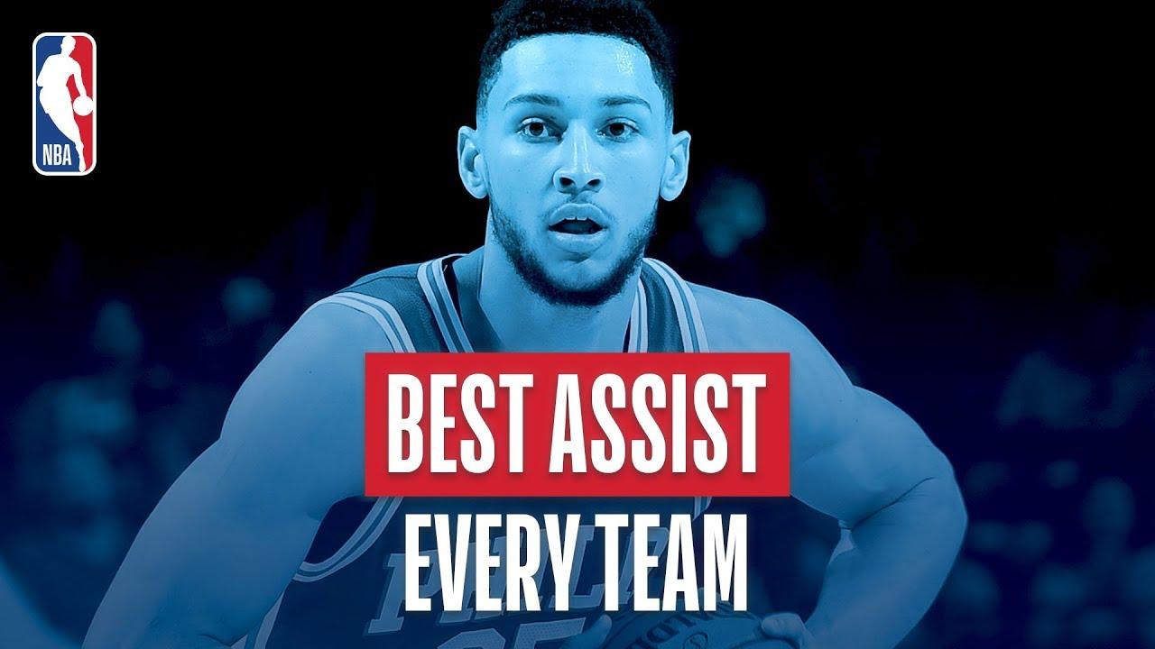best-assist-from-every-team-2018-nba-season