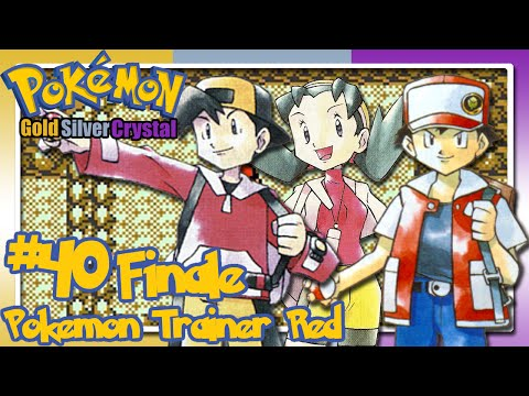 Let's Play Pokémon Gold/Silver/Crystal - Co-op - Part 40 FINALE - Pokémon Trainer Red