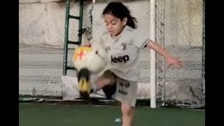 6 Year Old Arat Hosseini Is Already a Viral Football Sensation