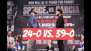 Errol Spence Jr. vs. Mikey Garcia: LOS ANGELES PRESS CONFERENCE #boxing
