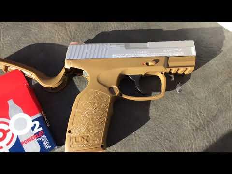 Umarex XCP  177 Co2 BB Pistol Part 1 - YouTube