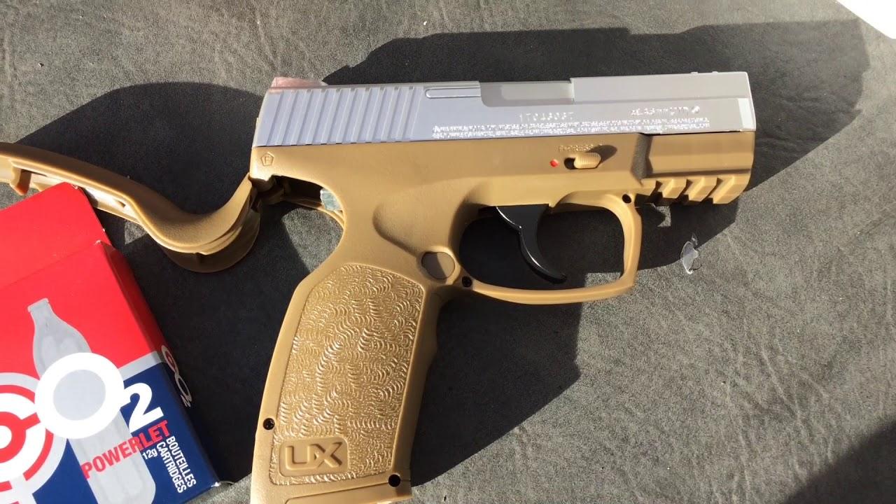 Umarex XCP  177 Co2 BB Pistol Part 1