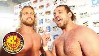 G1 CLIMAX 28 Night2 (July 15) - Post-match Interview [1st match]