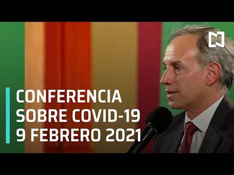 Conferencia Covid-19 en México - 9 febrero 2021