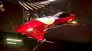 Konzept für bemannte Renndrohne: Formel 1 in der Luft