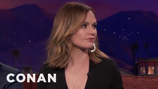 Anna Paquin's Car Is Constantly Covered In Pigeon Poop  - CONAN on TBS