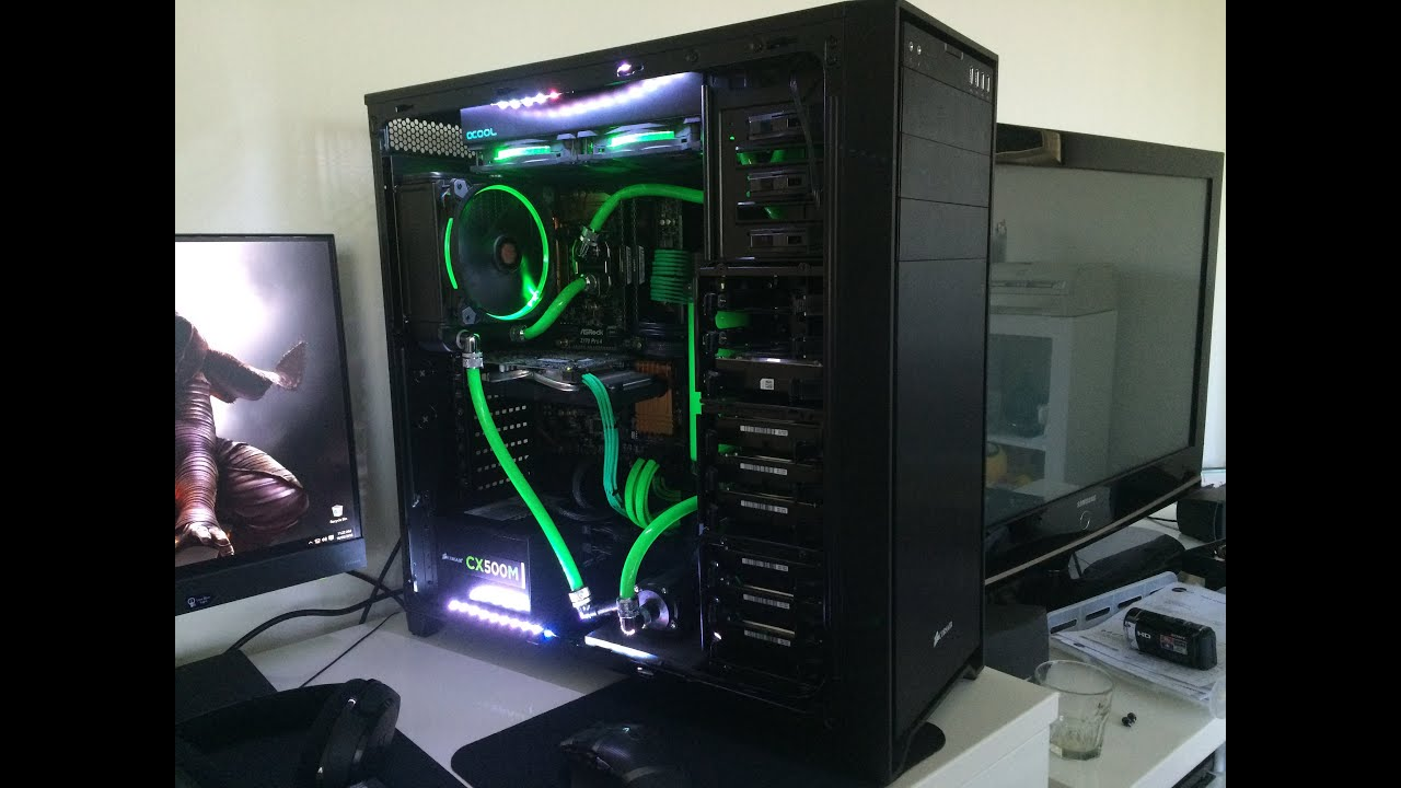 Green Red Pc Build
