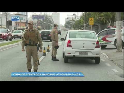 Onda de ataques gera pânico em Santa Catarina