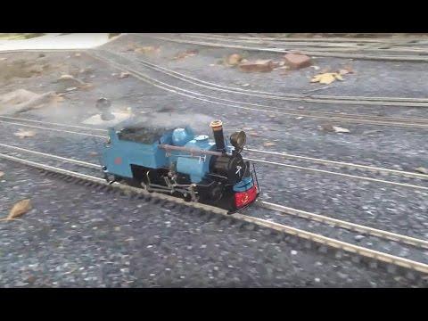 Blue Darjeeling B-Class Test Run