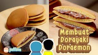 MEMBUAT DORAYAKI DORAEMON | EASY DORAYAKI RECIPE | MOVIE RECIPE #12