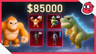 85,000 UC for ALL NEW PETS (GODZILLA & KONG)