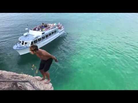 Pictured Rocks Cliff Jump: LIVNFRESH
