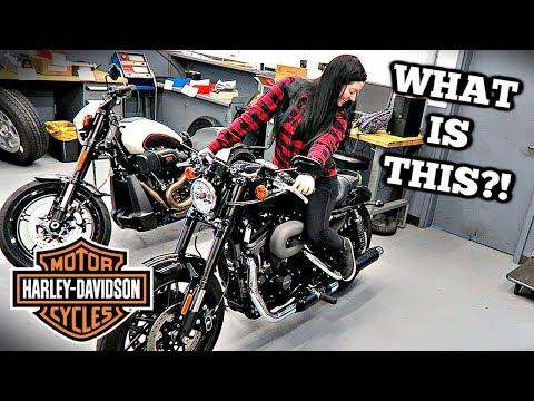 FIRST Harley With My Sister! *DUAL VLOG*