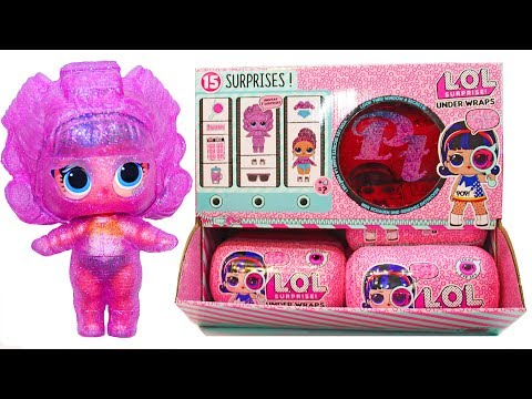 LOL Surprise UNDER WRAPS ULTRA RARE DOLL POPSY TOYS