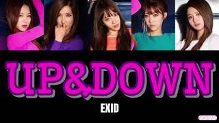 【 カナルビ / 日本語字幕 / 歌詞 】UP&DOWN (위아래) - EXID (이엑스아이디)