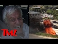 Dick Van Dyke's Car EXPLODED On The Freeway | TMZ