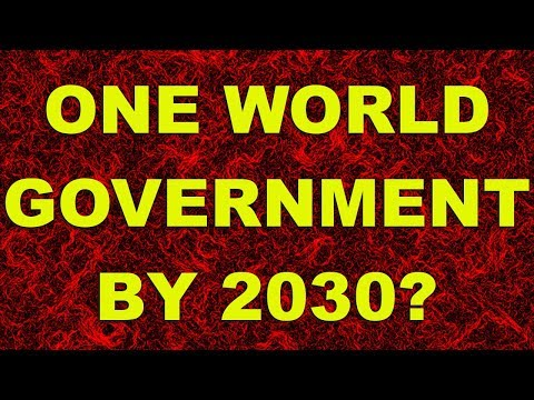 U.N. plans One World Government by 2030