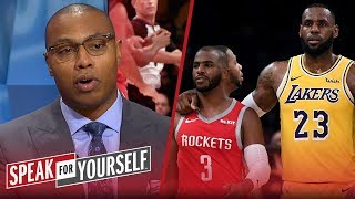 Caron Butler reacts to the Lakers and Rockets fight | NBA | SPEAK FOR YOURSELF