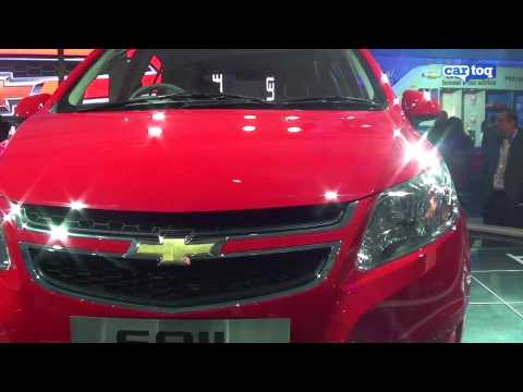 Chevrolet Sail video review from Auto Expo 2102 - CarToq.com