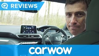 Peugeot 3008 2017 SUV i-Cockpit infotainment and interior review | Mat Watson Reviews