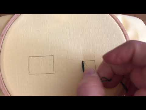 Tutorial: der einfache Plattstich