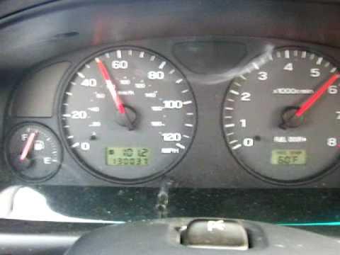 2002 Subaru Forester S , 0-60, 0-70 mph