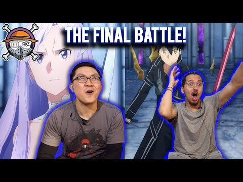 The Administrator vs. The Black Swordsman - Sword Art Online S3 Alicization Episode 24 LIVE REACTION