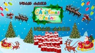 Christmas Trains Jugando a ser Santa Claus Juego Gratis Multijugador en PC y Navegador Web