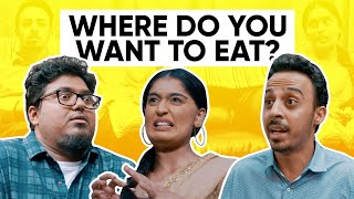 Where Do You Want To Eat? | Jordindian | Niharika NM