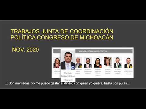 """Diputado Javier Estrada Cárdenas: """"Me puedo gastar el dinero público 'hasta en sexoservidoras'."""""""