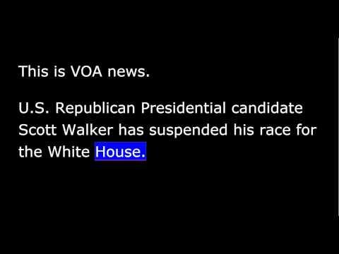 VOA news for Tuesday, September 22, 2015