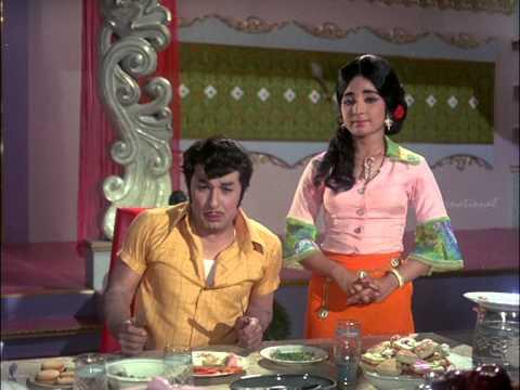 Ninaithathai Mudippavan | Tamil Movie Comedy | MGR | Manjula | Nambiar | Latha
