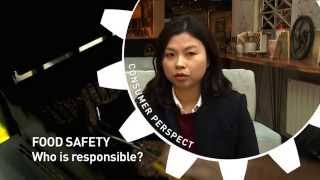 Consumer Expectation: Who is Responsible for Food Safety?