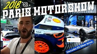 🔴 Paris Motorshow 2018 Expo Tour LIVE (day 1 & 2)