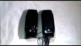 Logitech S150 USB Speakers / Parlantes - Disassembly & Test / Desarme y prueba