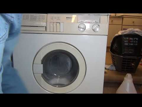 Bosch WFM4030 : Drum cleaning Program B : Cotton 95'c + high water level