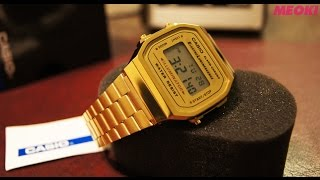 Casio Gold Collection Unisex Digital (Unboxing) HD