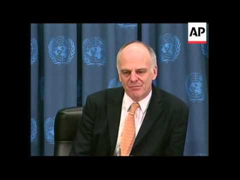 Presser following UN special report on bird flu