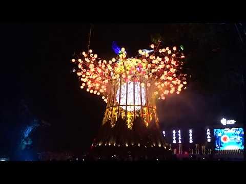 [ 2020 台灣燈會 ] 森生守護-光之樹 主燈秀