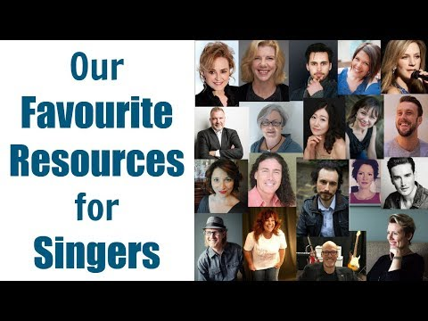 SINGING TEACHERS ANSWER: What are 3 books or other resources that you recommend?