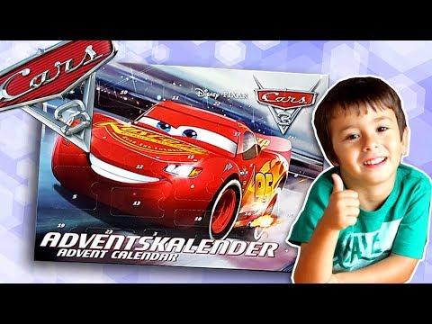Calendario Adviento Lidl.Abrimos El Calendario De Adviento De Disney Cars 3 Del Lidl Que