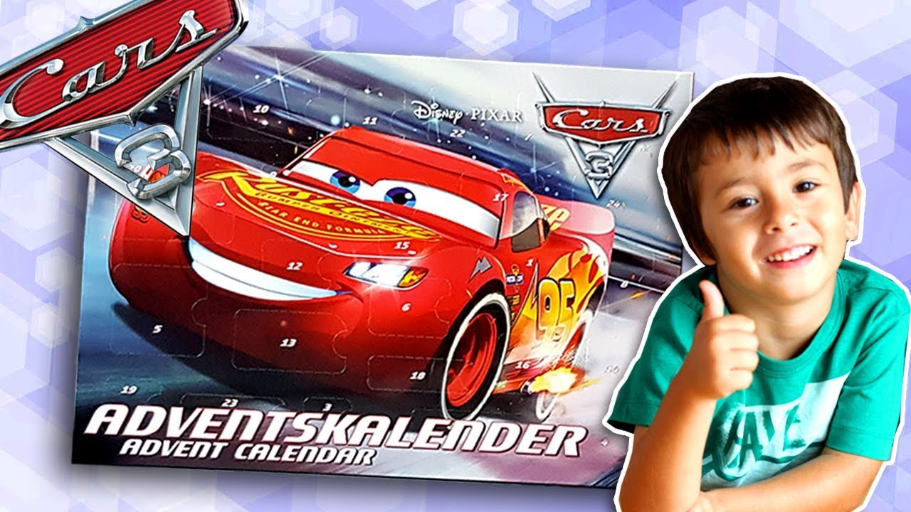 Calendario Adviento Lidl.We Open The Advent Calendar Of Cars 3 What 24 Surprises Are There