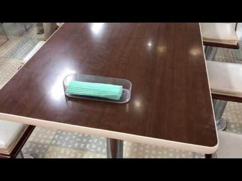Japan Cleaning Cloth on the Table