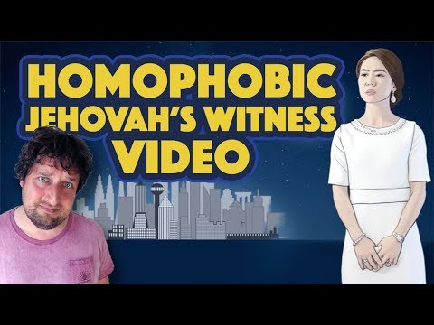 """Homophobic Jehovah's Witness Video (""""Remember Lot's Wife"""")"""