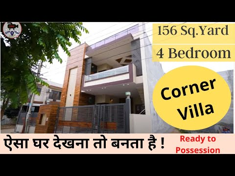 156 Sq.yard Kothi (Independent Villa) with 4 Bedrooms | Luxury Interiors | Ready to Move Villa